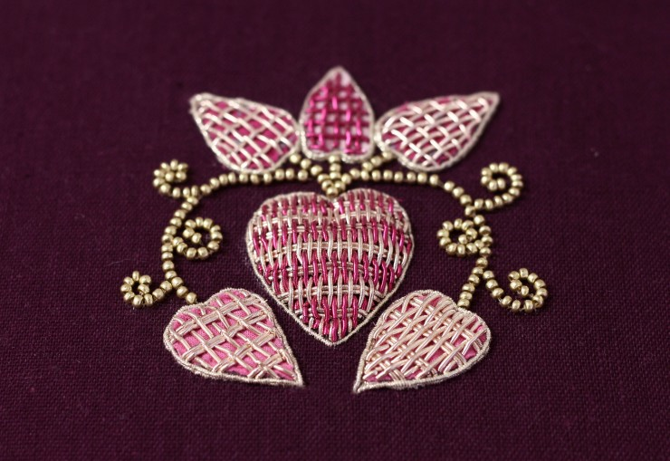 broderie or